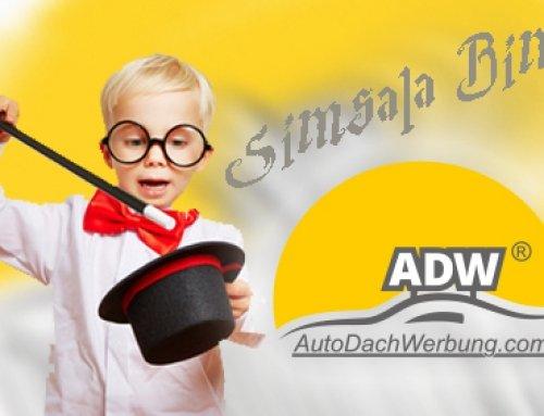 Auto-Dach-Werbung ist wie Magie!